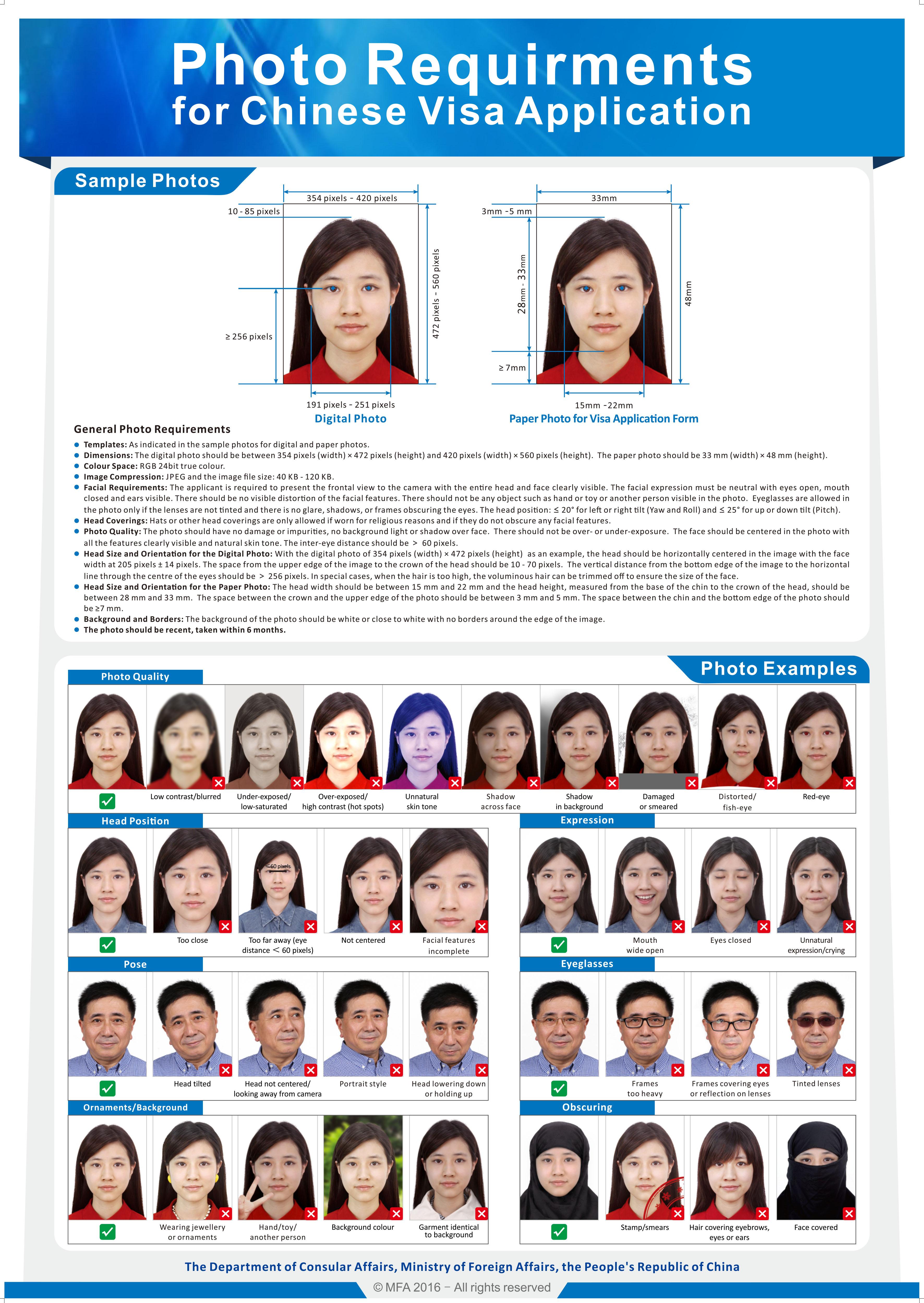 china touristenvisum beantragen • l-visum •, Einladungen
